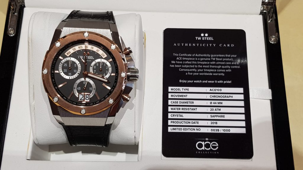 TW Steel Ace limited edition